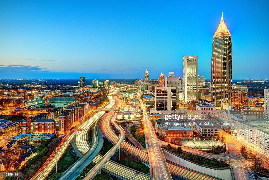 The Lifeblood of Atlanta : Stock Photo