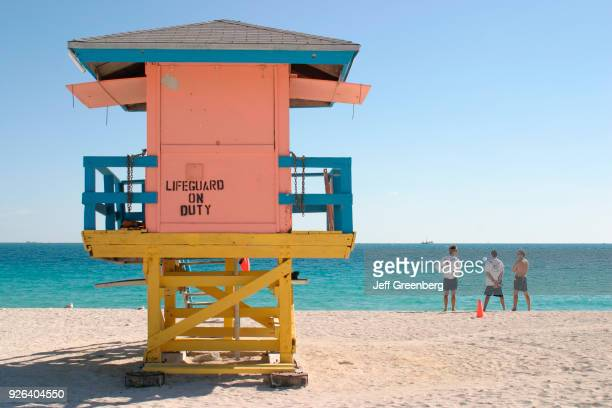 The lifeguard station on South Beach