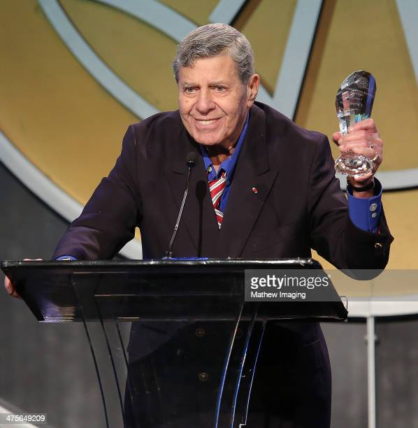 The Lifetime Achievement Award recipient Jerry Lewis onstage at the 51st Annual ICG Publicists Awards held at the Beverly Wilshire Four Seasons Hotel...