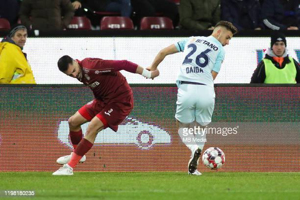The Liga I match between CFR Cluj and FCSB at DrConstantinRadulescuStadium on February 2 2020 in ClujNapoca Romania