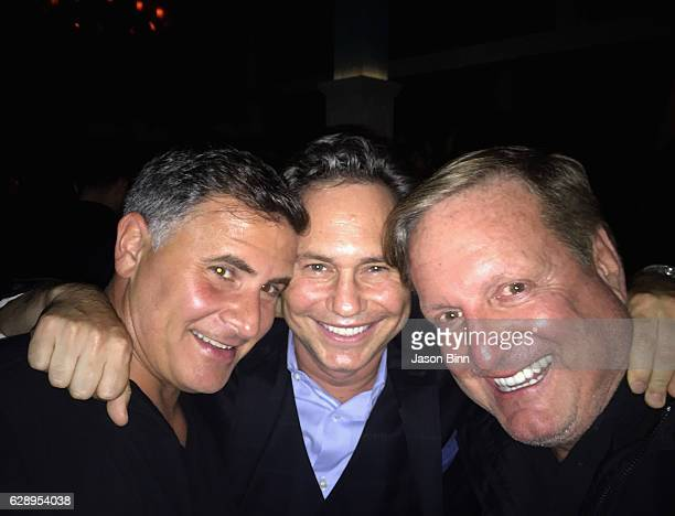 The Light Group Founder Andrew Sasson Jason Binn The Yucaipa Companies Cofounder Ronald Burkle circa October 2016 in New York City