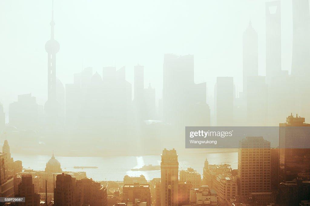 the light haze : Foto stock