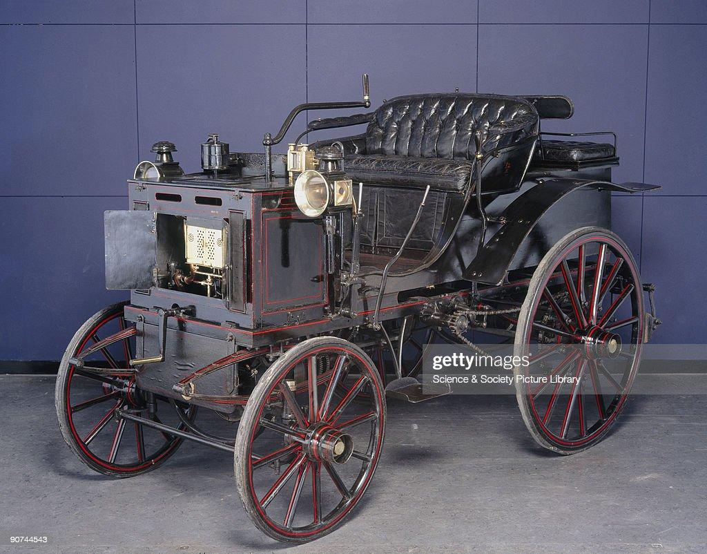 Panhard Levassor 4 hp motor car, c 1894-1895. Pictures | Getty Images