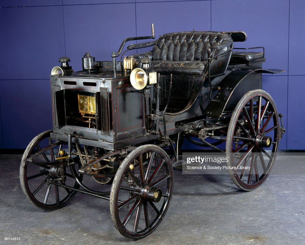 Panhard-Levassor 4 hp motor car, 1894. Pictures | Getty Images