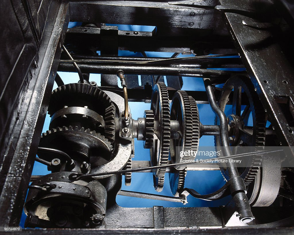 Panhard-Levassor 4 hp motor car gearing, 1894. Pictures | Getty Images