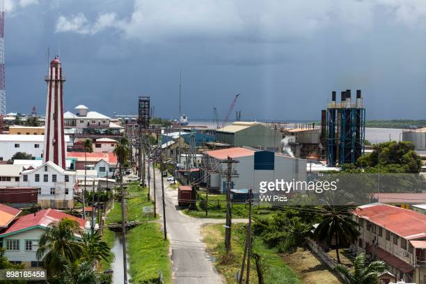 The Light House Georgetown Guyana was built of brick in 1830 to replace an earlier wooden one built by the Dutch It is octagonal in shape and rises...