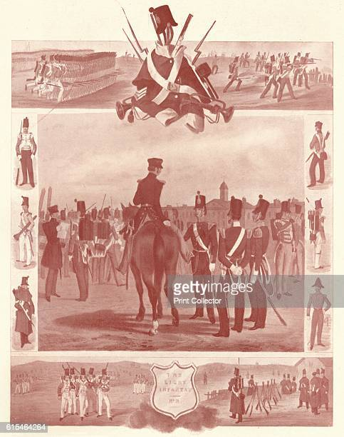The Light Infantry ' c1846 Light infantry are soldiers whose job was to provide a skirmishing screen ahead of the main body of infantry harassing and...
