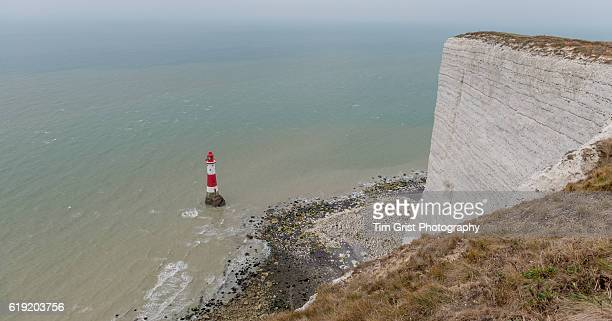 The Lighthouse at Beachy Head, East Sussex.