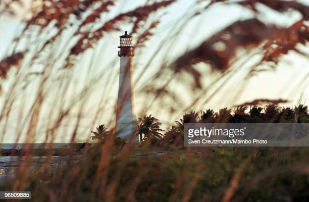 The lighthouse at Bill Baggs Cape Florida State Park in Key Biscayne where Gregory Hemingway most likely spent his last nite before he was arrested...
