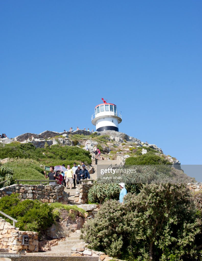 The Lighthouse at Cape Point : Stock Photo