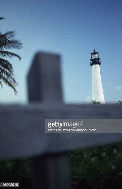The lighthouse at the Bill Baggs Cape Florida State Park Key Biscayne on September 24 2002 Gregory Hemingway son of fame American writer and Nobel...