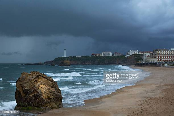 The lighthouse in Biarritz