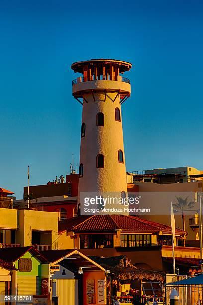 The lighthouse in Cabo San Lucas, Mexico