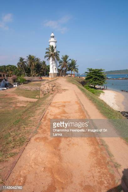the lighthouse in the fort, galle - ゴール市 ストックフォトと画像