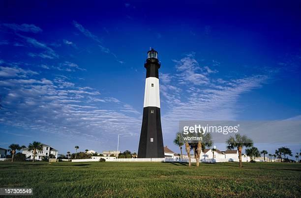 The lighthouse on tybee island