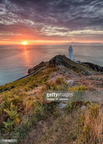 the lighthouse #5 - デヴォン州 ストックフォトと画像