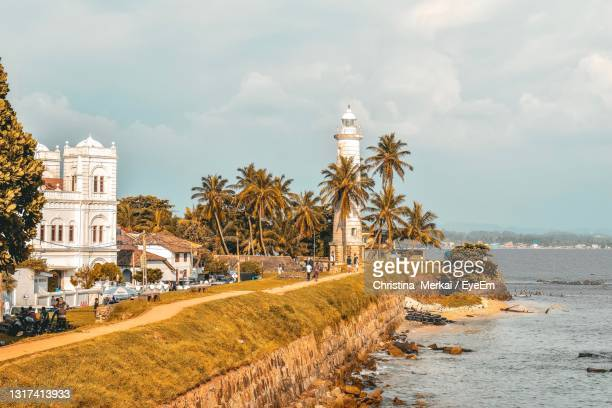 the lighthouse - sri lanka stock pictures, royalty-free photos & images