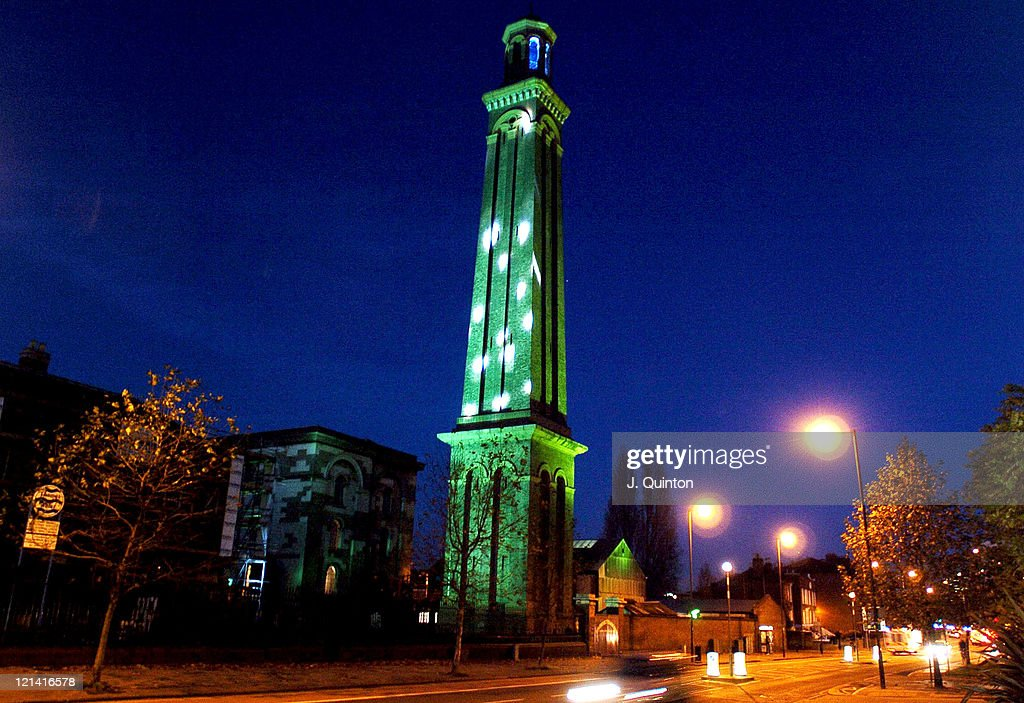 the lights are turned on today for the worlds tallest artificial christmas tree the 196ft - Worlds Tallest Christmas Tree