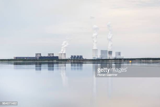 The lignitefired power station of Boxberg is pictured on April 28 2018 in Klitten Germany
