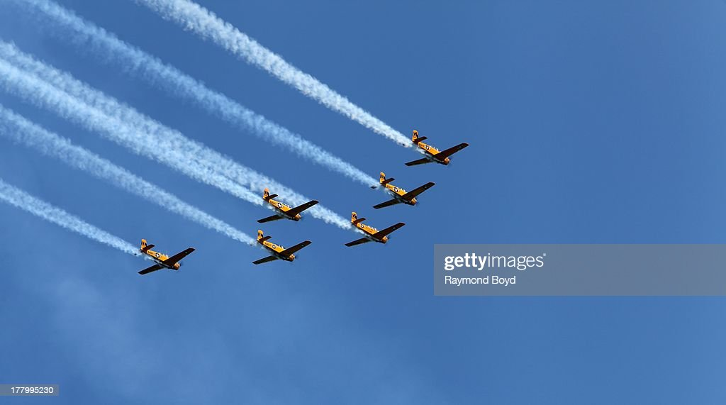 55th Annual Chicago Air And Water Show  : News Photo