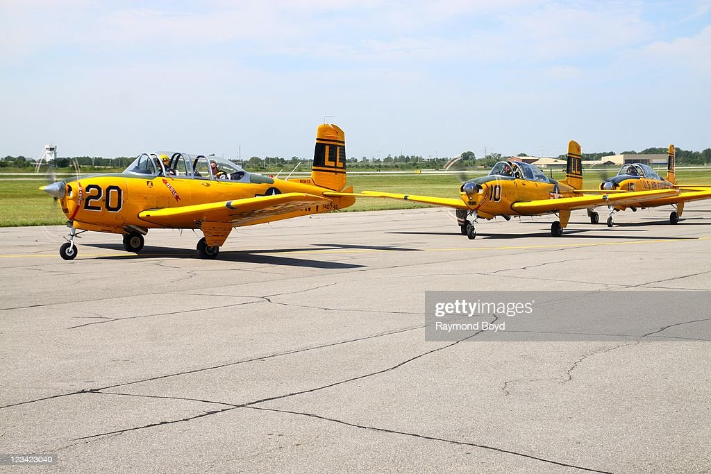 Chicago Air And Water Show Media Day : News Photo