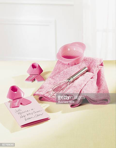The limited edition Help Whip Cancer products for 2005 are Mini Stainless Steel Whisk Microfiber Towel Pink Can Strainer and Help Whip Clips For each...