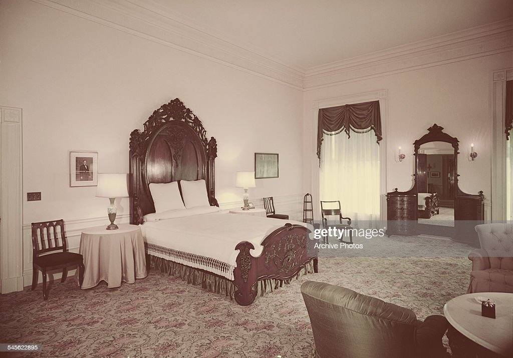 The Lincoln Bedroom, formerly the Blue Suite, in the White ...