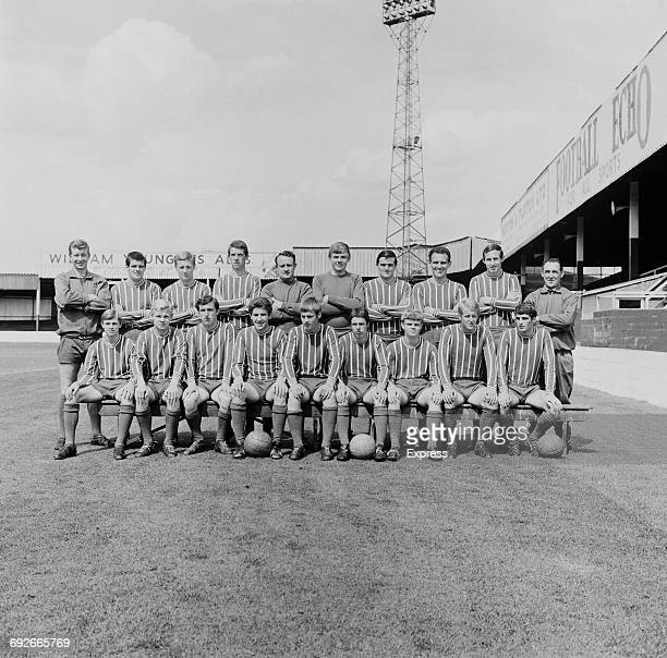 The Lincoln City FC football team UK 8th August 1966