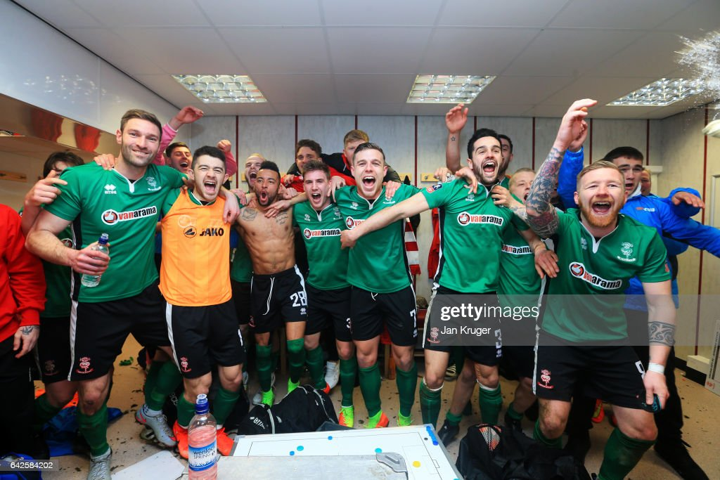 Burnley v Lincoln City - The Emirates FA Cup Fifth Round Photos and ...