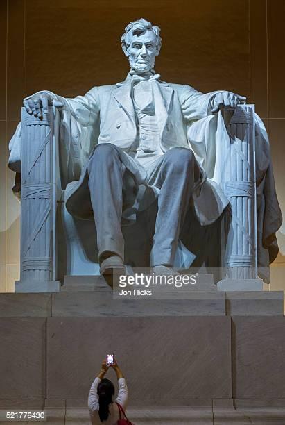 The Lincoln Memorial, Washington DC.