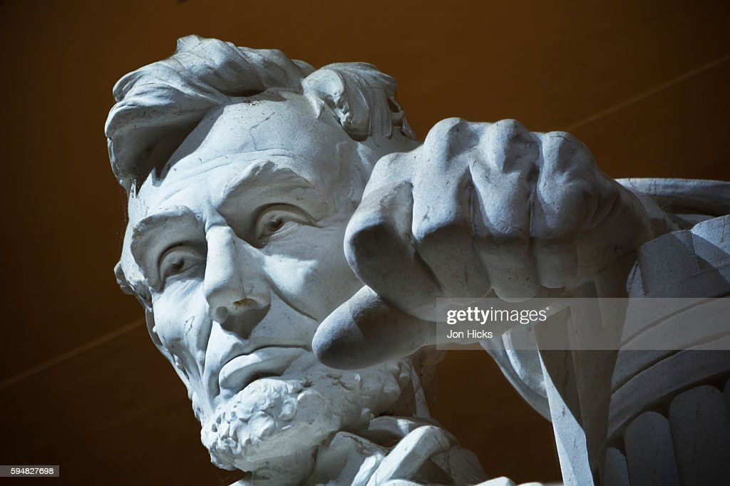 The Lincoln Memorial, Washington DC. : Stock Photo
