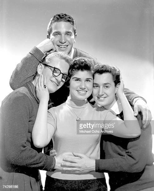The LincTones aka The Tokens pose for a portrait circa 1956 in New York City New York