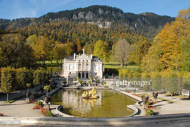 The Linderhof castle was finished in 1878, modeled after Versailles to honour King Louis XIV whom Ludwig II greatly admired. The king used it as a...