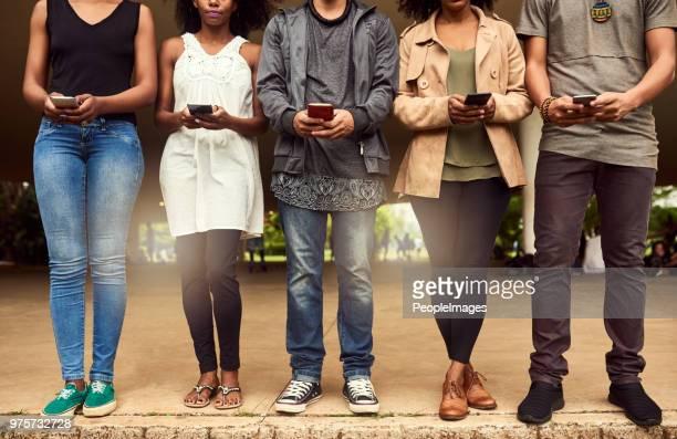a linha de conectividade - rede social - fotografias e filmes do acervo
