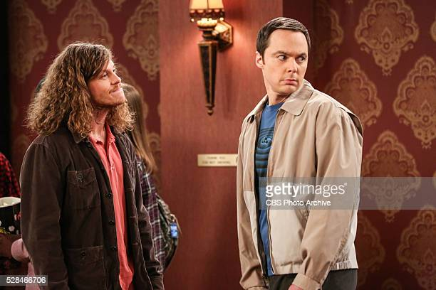 The Line Substitution Solution Pictured Trevor and Sheldon Cooper Sheldon hires Stuart to spend the day with Amy when he'd rather go to a movie...
