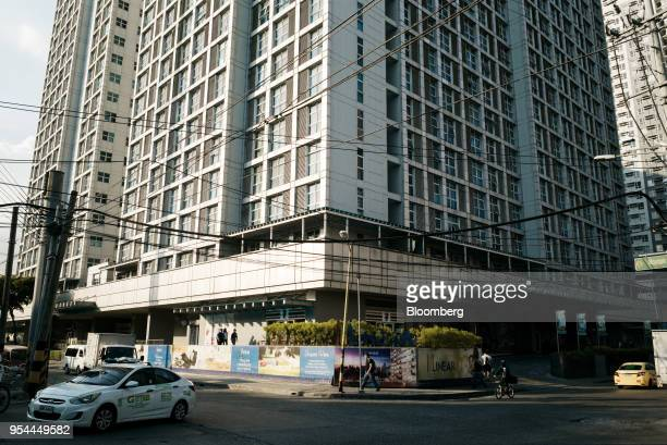 The Linear Makati development stands in the San Antonio Village area of Makati City Manila the Philippines on Wednesday May 2 2018 Home prices in the...