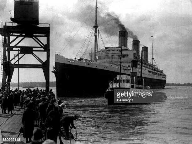 #php.02630 Photo RMS MAJESTIC WHITE STAR LINE PAQUEBOT OCEAN LINER