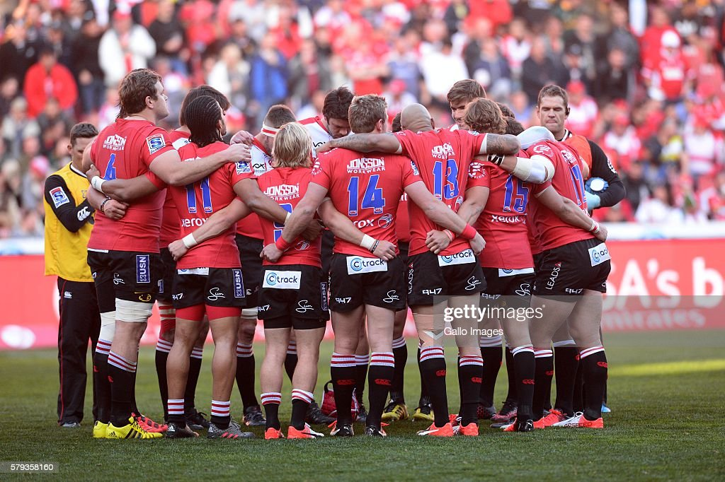 Super Rugby Quarterfinal - Lions v Crusaders : News Photo