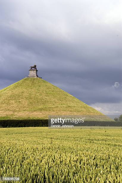 CONTENT] The Lion's Mound is a large artificial hill on the Waterloo battlefield to commemorate where the Prince of Orange was wounded during the...