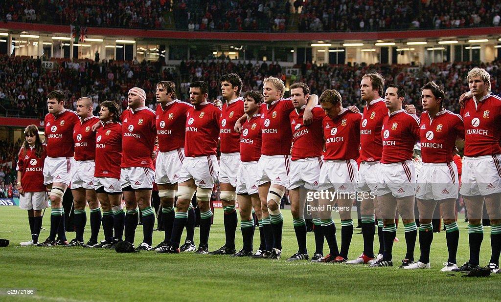 British And Irish Lions v Argentina : News Photo
