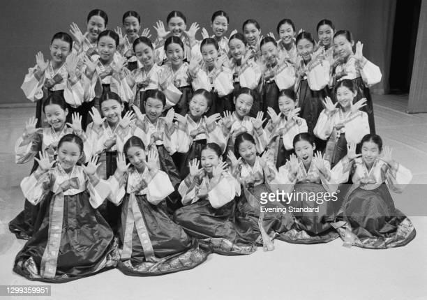 The Little Angels Children's Folk Ballet of Korea, UK, 14th October 1972.