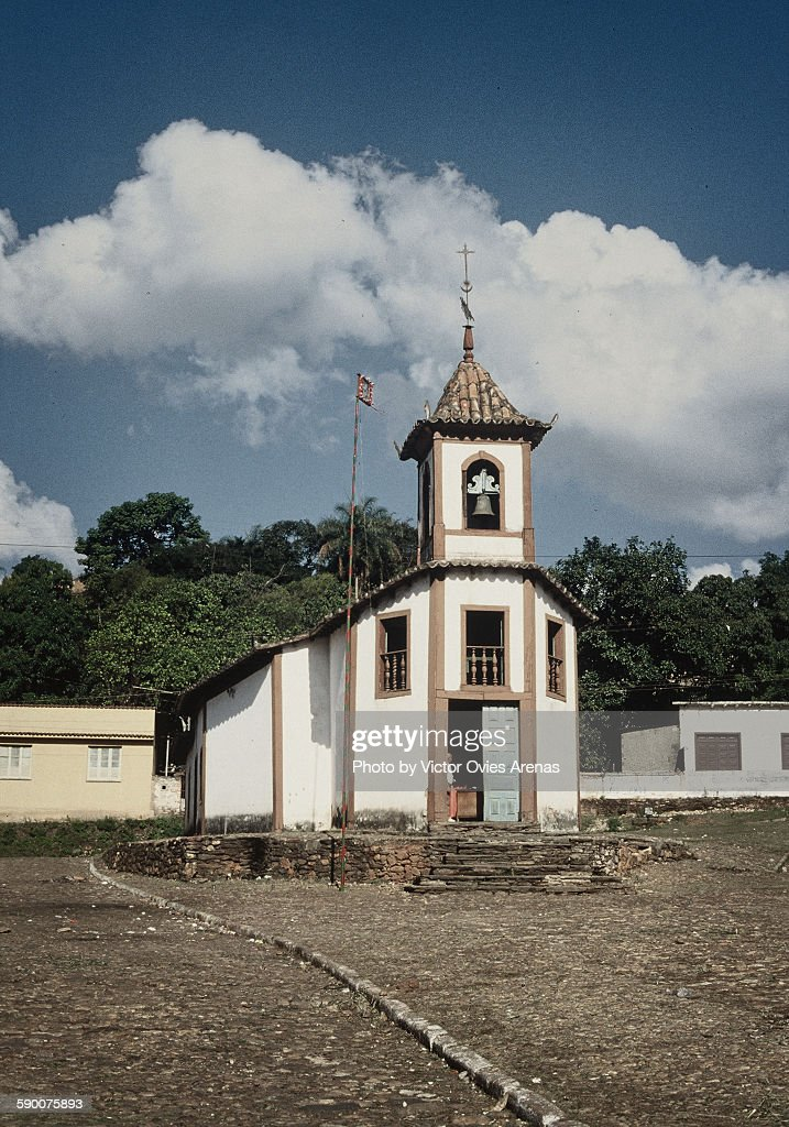 The little church : Foto de stock