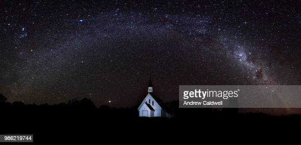 The Little Church under the Milky Way