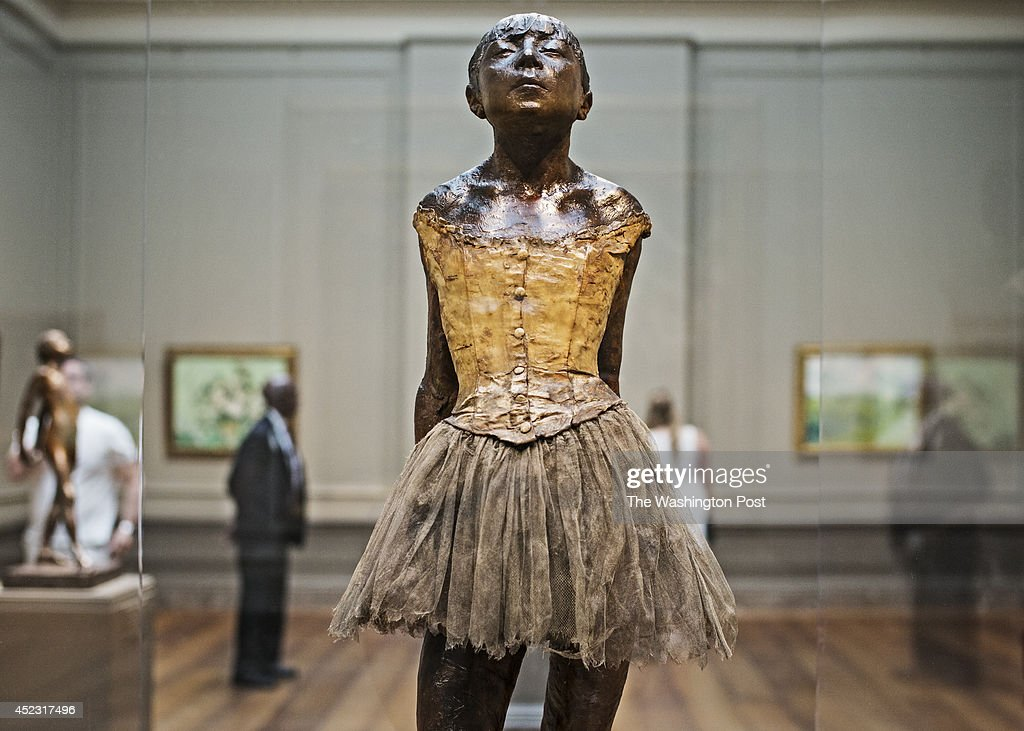 Edgar Degas' Little Dancer : News Photo