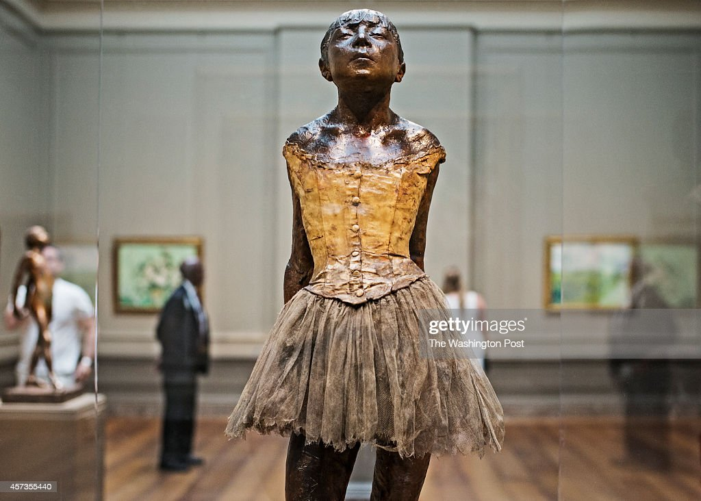 Edgar Degas' Little Dancer : News Photo