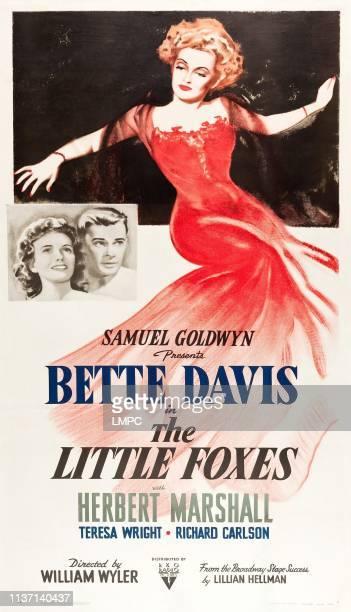 Teresa Wright Herbert Marshall Bette Davis on poster art 1941