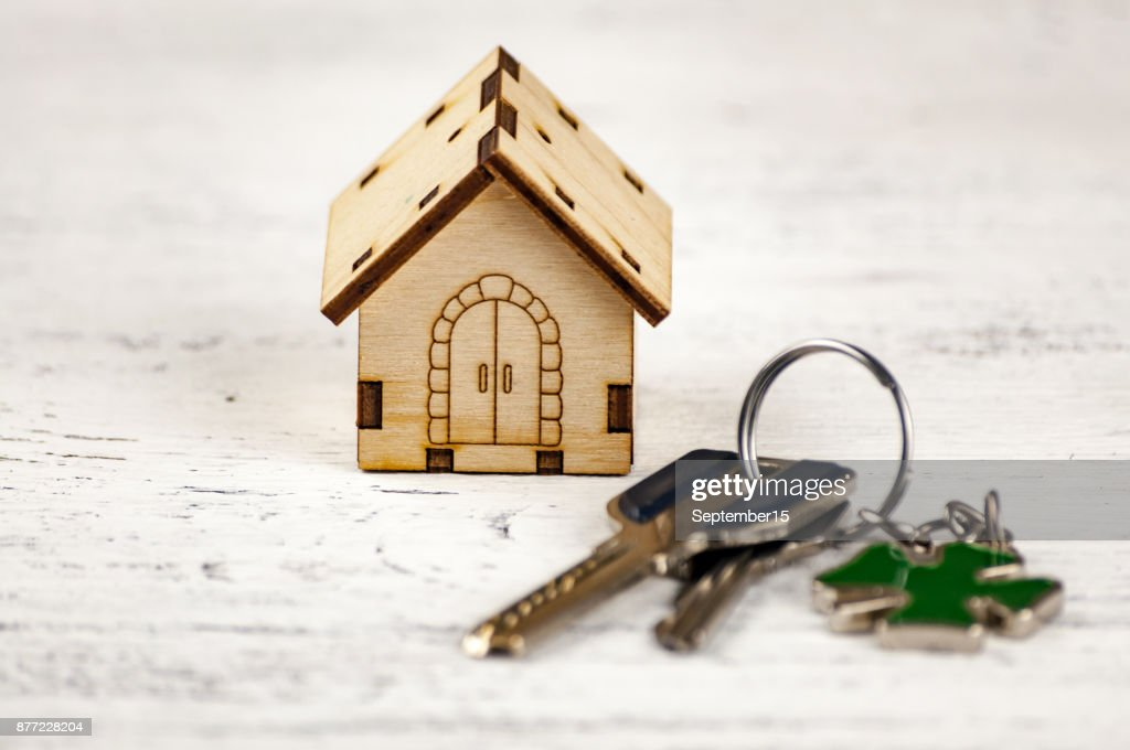 The Little House Next To It Is The Keys Symbol Of Hiring A House For