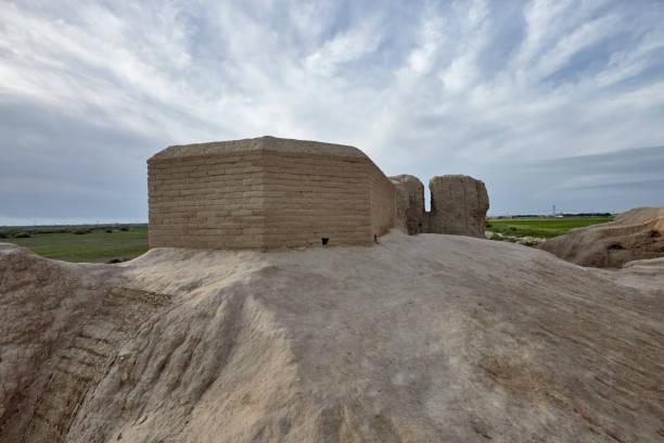 The little Kyz Kala Is a part of Sultan Kala in the ancient Merv, Turkmenistan