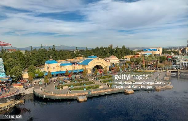 The Little Mermaid - Ariel's Undersea Adventure at Disney California Adventure Park in Anaheim, CA, on Tuesday, Jan 7, 2020.