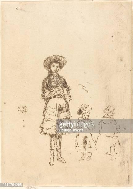 The Little Nurse, c. 1886/1888. Artist James Abbott McNeill Whistler.
